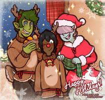 Tomai's Happy Holidays! by DarkChibiShadow