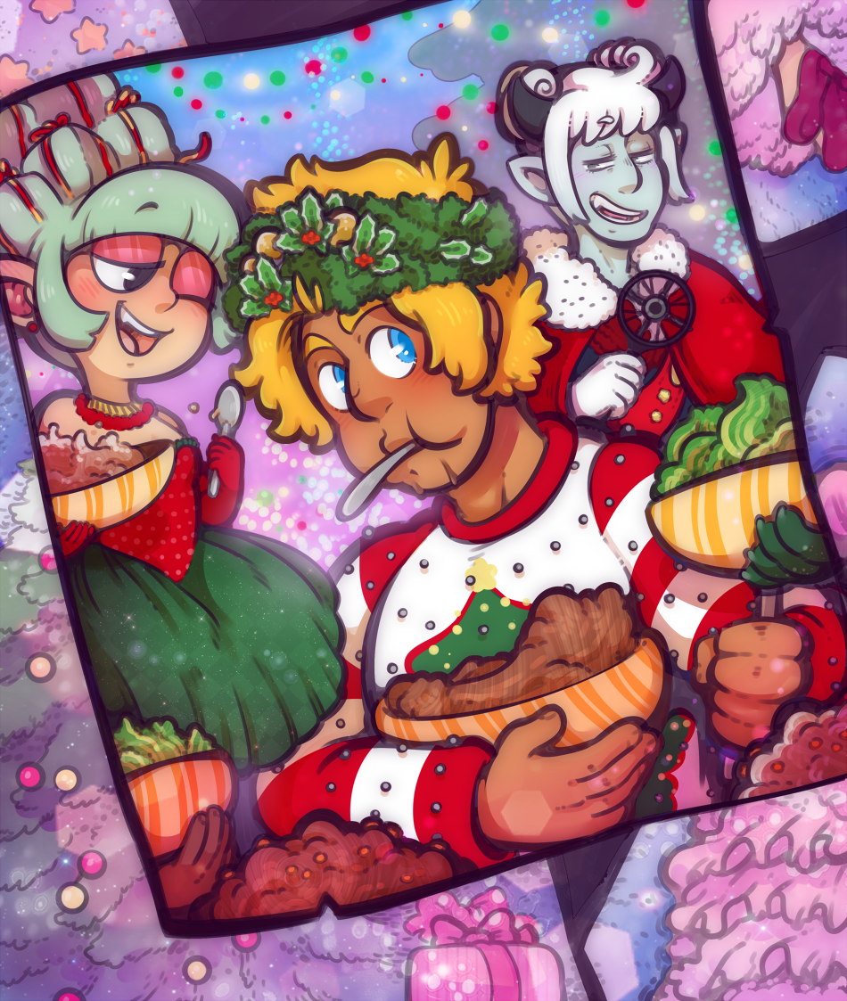 Holiday Cheermeister by DarkChibiShadow