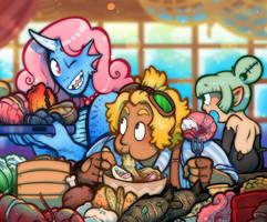 Feast by DarkChibiShadow