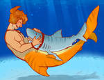 Sharkline and his buddy