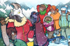 Chilly Travels by DarkChibiShadow