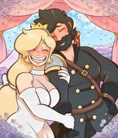 COMMISSION: Wedding by DarkChibiShadow