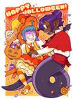 Naveen + Battam + Halloween