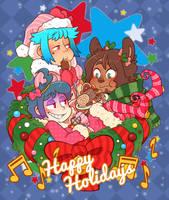 Solanaceae - Happy Holidays - 2018 by DarkChibiShadow
