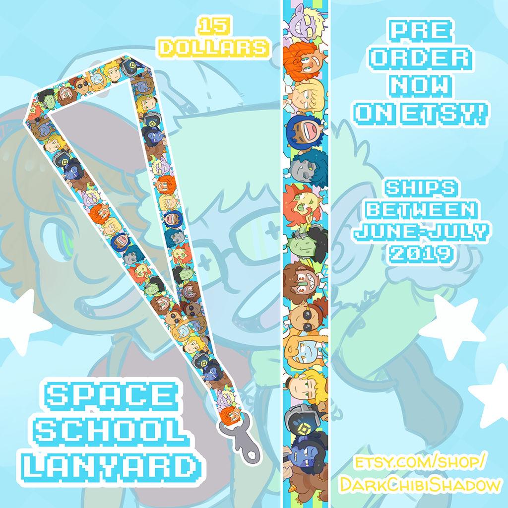 Space School - Lanyard - PRE-ORDERS! by DarkChibiShadow
