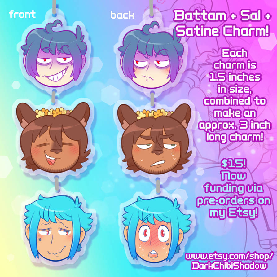 Solanaceae Charm PRE-ORDERS! by DarkChibiShadow