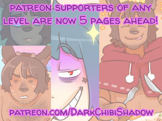 My Patreon has been upgraded! by DarkChibiShadow