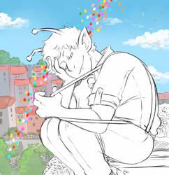 Got A Big Day by DarkChibiShadow