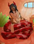 Commission: Agni the Naga