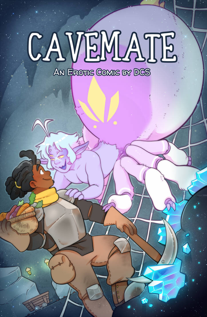 Cavemate, my new comic is starting!