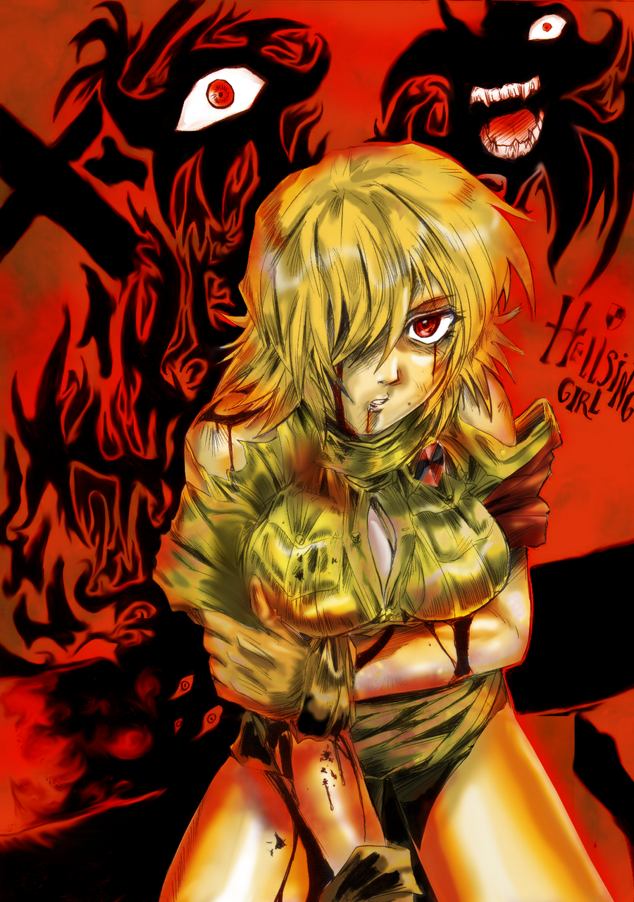 Seras secret power by liaartemisa