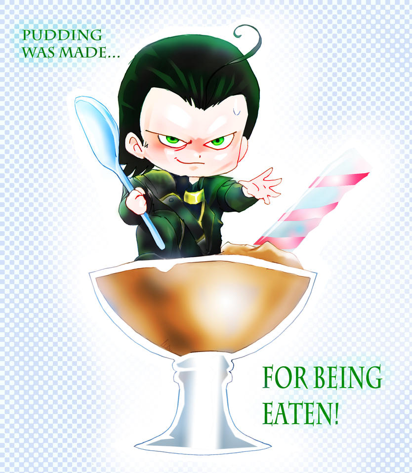 Loki The pudding master by liaartemisa