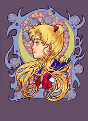 Sailor Nouveau style by liaartemisa