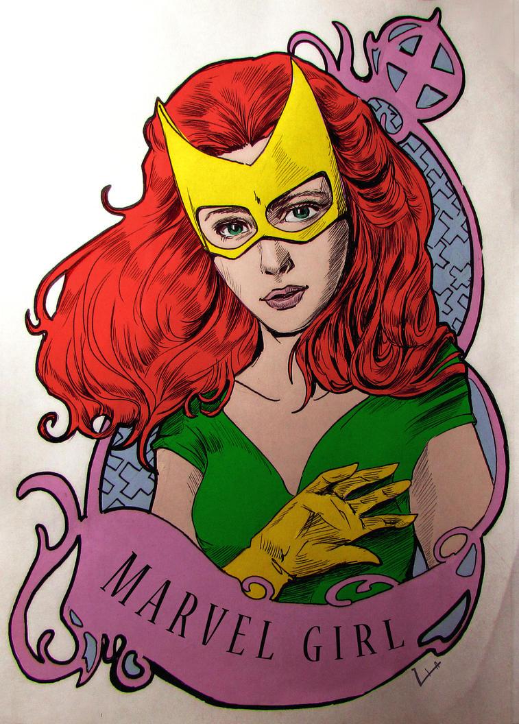 Marvel Girl by liaartemisa