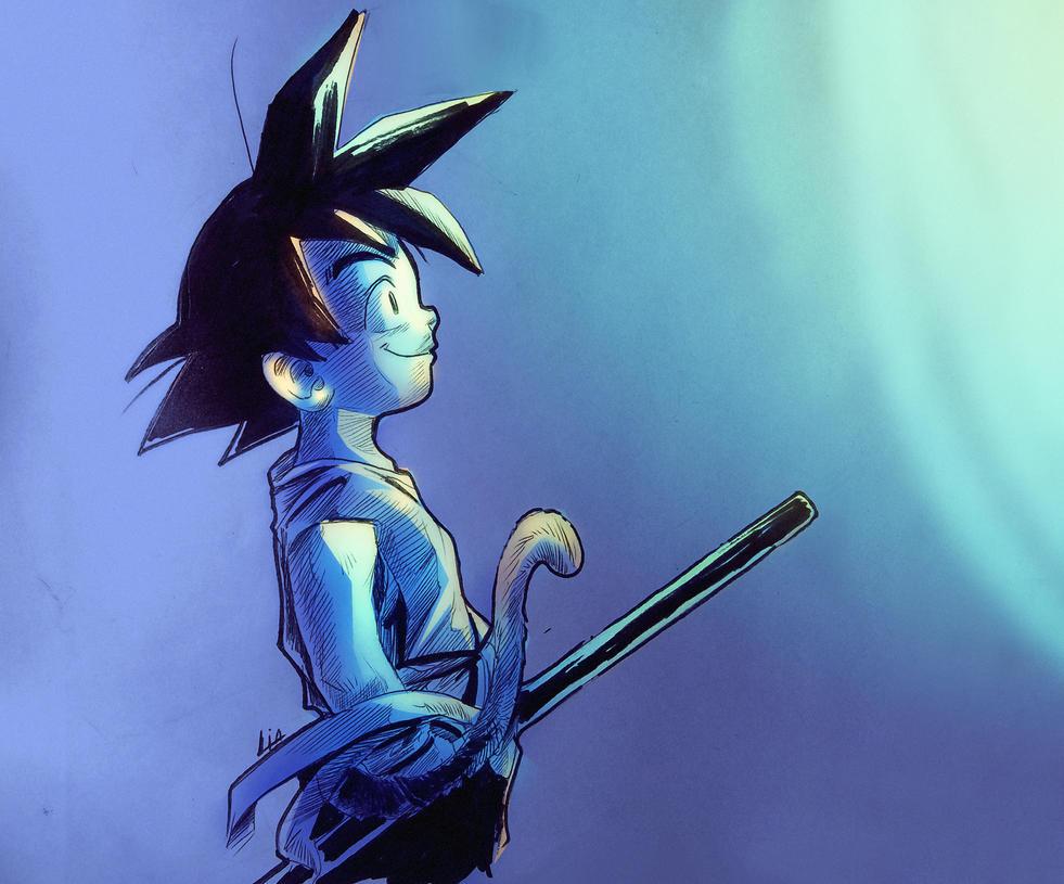 Happy Birthday Goku by liaartemisa