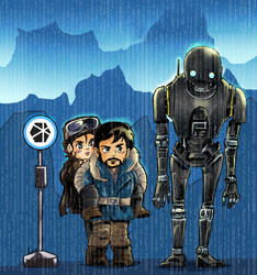My Neighbor K2SO by liaartemisa