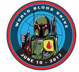 Boba fett blood donor emblem by liaartemisa