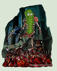Army of One Pickle Rick