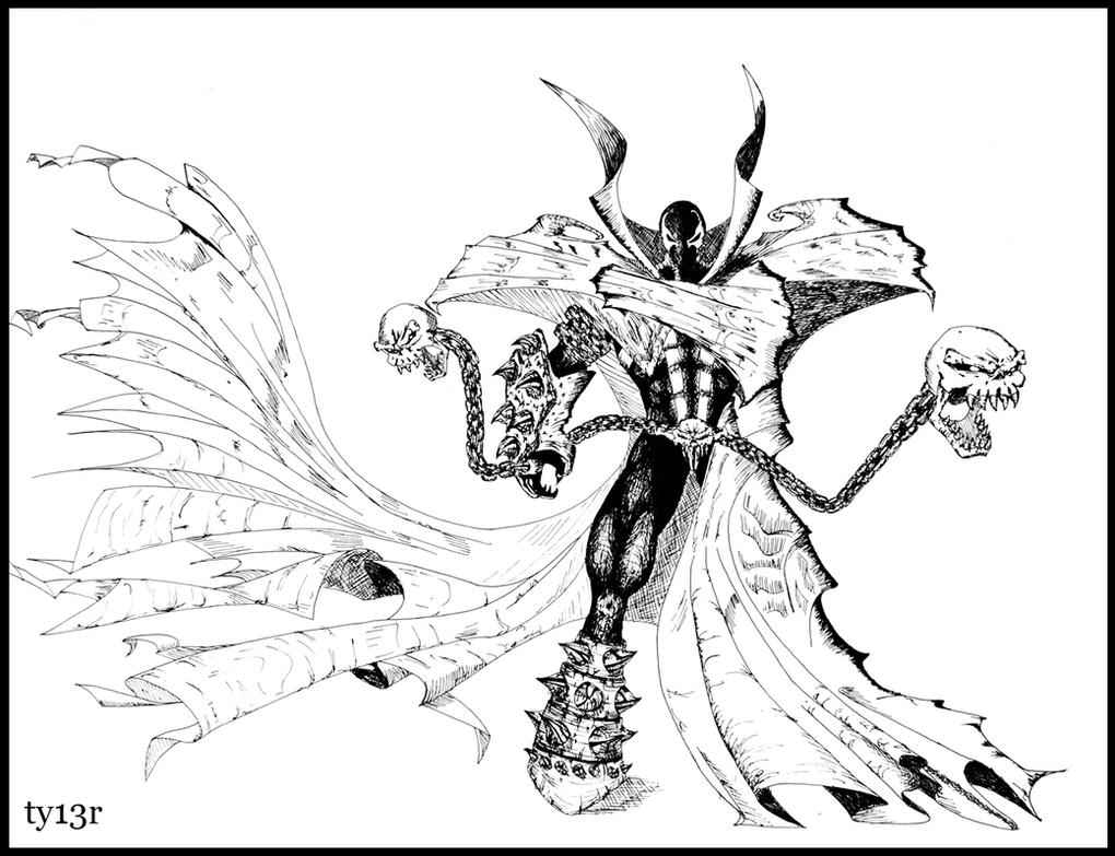 Spawn By Ty13r On DeviantArt