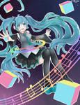 Miku Colours: Hatsune Miku fanart