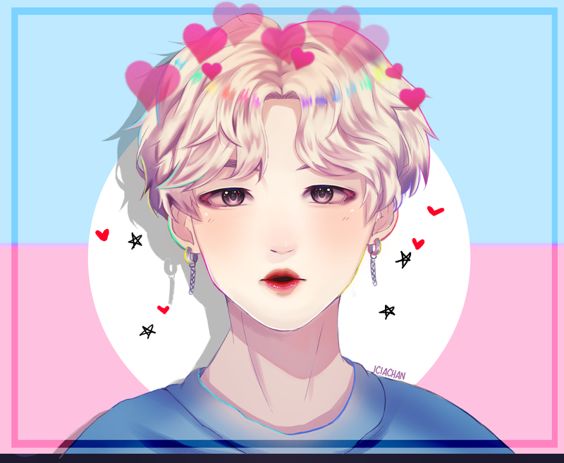 Pastel Jimin by IciaChan