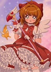 Cardcaptor Sakura 90's Style Fanart