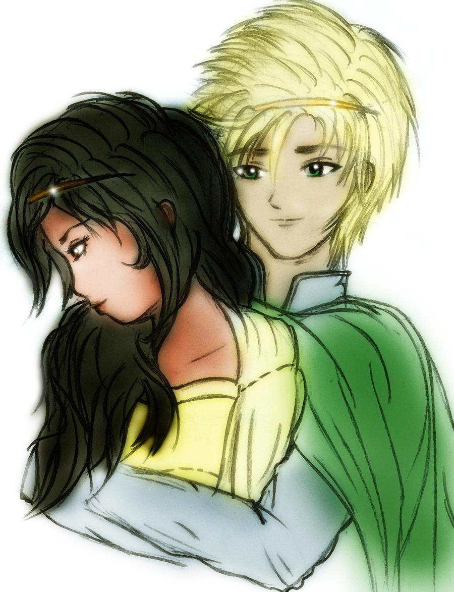 ... My princess Cor and Aravis by xRunox