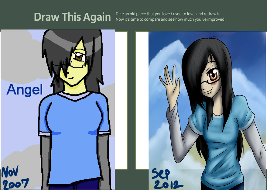 Draw This Again Contest by SomaShiokaze