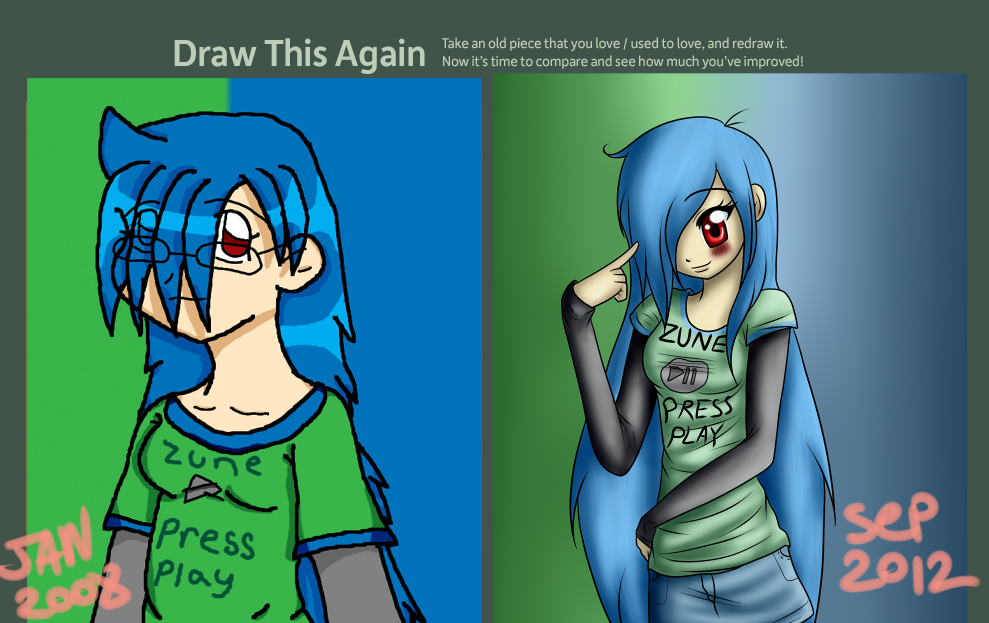 Draw This Again Contest 2 by SomaShiokaze