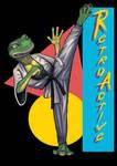 Retro Gecko by DimitrijGontscharart