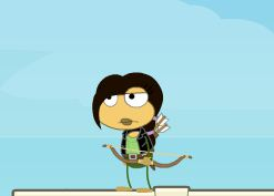 My Katniss poptropican! by Stairlight-1200
