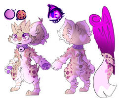 Epphimeral's Updated Ref Sheet -read desc- by Kitty-Blue-Caracal
