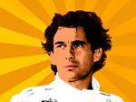 Ayrton Senna Pop Art