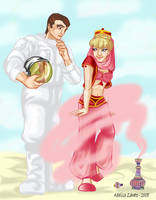 I Dream of Jeannie by luxshine