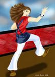 Noemi Dances to her own beat