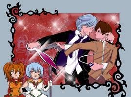 Evangelion en Shojo by luxshine