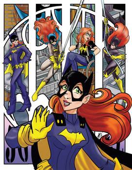 Batgirl through the ages