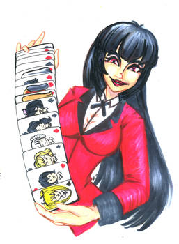 Kakegurui: Let's make a bet