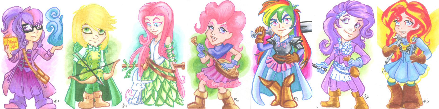 Equestria Girls role play by luxshine