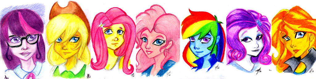 Equestria Girls Portraits