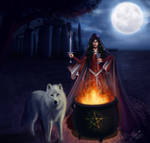 The Stonehenge Witch