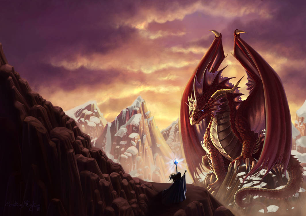 The dragon and the sorceress