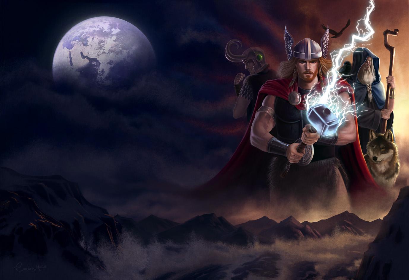 Ragnarok by CarolMylius