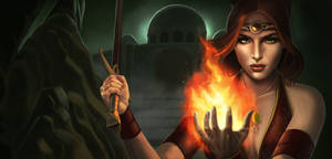 The last lady of fire by CarolMylius