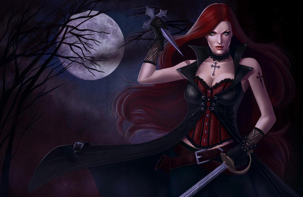 vampire huntercarolmylius on deviantart