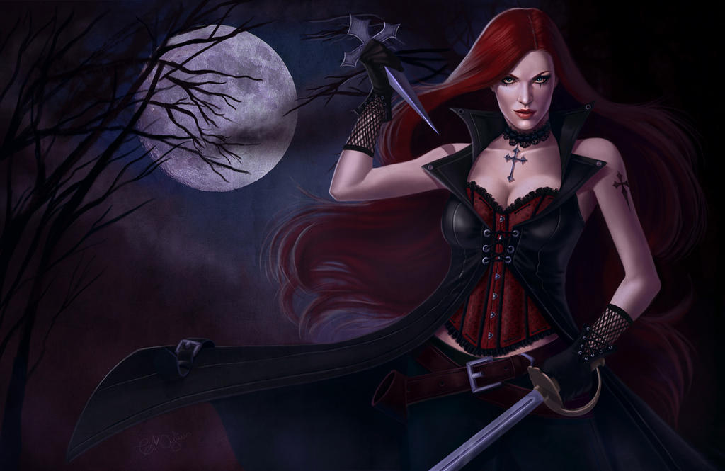 Vampire Hunter by CarolMylius