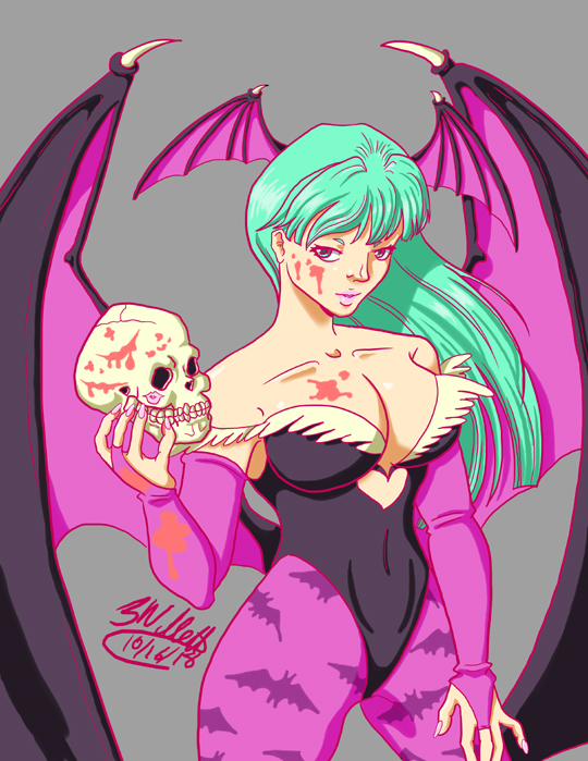 Morrigan by Nasdreks