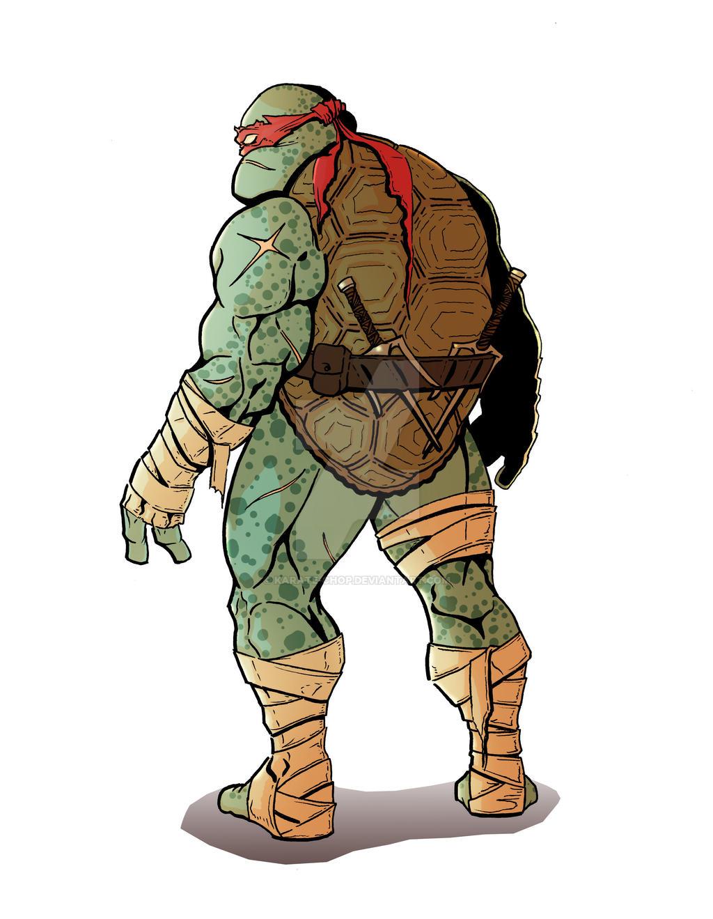 Raphael is cool but crude. I imagine Raphael is kind of a