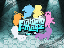 Fighting is Magic: Aurora Title Screen (Final)