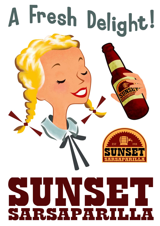 Fallout: New Vegas Sunset Sarsaparilla Poster 2 by ...